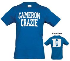 "Duke® ""Cameron Crazies""® Youth T-Shirt."