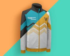 Mockups for this posting is a free jacket mockups. For those of you who love sports jackets, and intend to make a jacket for team sports classes, you can try this mockup to create the design to your liking. Graphic Design Tips, Free Logo, Sports Jacket, Brand Packaging, Adidas Jacket, Long Drink, Product Mockup, Jackets, Templates