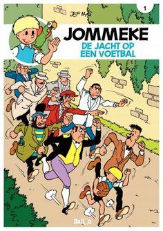 Jommeke - Album 1 - De jacht op een voetbal