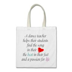 Shop Love to Teach Dance Bag created by dancindarling. Dance Teacher Gifts, Dance Gifts, Teach Dance, Dance Instructor, Passion For Life, Design Your Own, Reusable Tote Bags, Ballet, Gift Ideas
