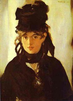 Berthe Morisot - Edouard Manet