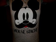 Mousestache...would love for the hubs to wear this to the party..lol