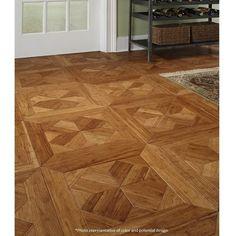 Islander Flooring Bordeaux Parquet Engineered x Bamboo Wood Tile Wood Parquet, Wooden Flooring, Kitchen Flooring, Hardwood Floors, Plywood Floors, Tile Flooring, Flooring Ideas, Laminate Flooring, Engineered Parquet Flooring
