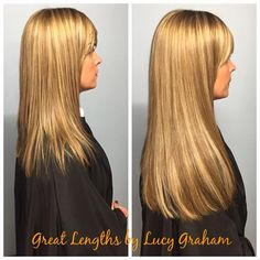 """@greatlengthsuk sometimes the only way to perfectly match a highlighted colour is to half all of the bonds - colours 06, 62 and 63 to avoid any """"stripes"""" and a perfect blend. 100 bonds 14"""" #extentions #hairextentions #hair #hairextentionsleeds #http://www.jennisonbeautysupply.com/  ,#hairinspo #longhair #hairextensions #clipinhairextensions #humanhair #hairideas #hairstyles #extensions #prettyhair  #clipinhairextensions #hairextensions #longhairgoals #hairextensionsspecialist…"""