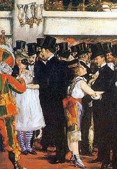 »»» Edouard Manet war ein moderner Maler seiner Zeit, dies lag vor allem an der Auswahl seiner Modelle...    #kunst