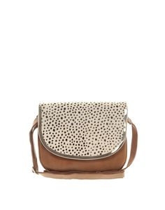 Animal Print Cross Body // ASOS