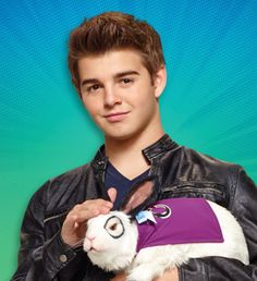Jack Griffo As Max Thunderman In Nickelodeon`s New Series, The Thundermans and Dr.C the Talking rabbit Max Thunderman, Cute Celebrity Guys, Cute Celebrities, Agent Kc, Nickelodeon The Thundermans, Jack Griffo, Cartoon Movie Characters, Nicky Ricky, Nickelodeon Shows