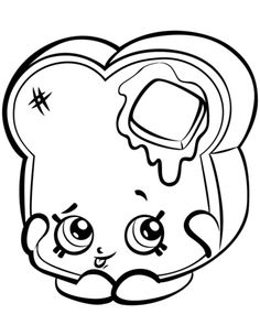 Toastie Bread to Print shopkins season 3 coloring pages printable and coloring book to print for free. Find more coloring pages online for kids and adults of Toastie Bread to Print shopkins season 3 coloring pages to print. Coloring Pages For Boys, Animal Coloring Pages, Coloring Pages To Print, Free Printable Coloring Pages, Coloring Book Pages, Free Coloring, Coloring Sheets, Tsum Tsum Coloring Pages, Shopkins Season