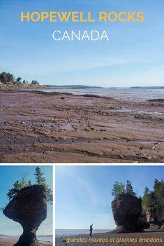 Visiter Hopewell Rocks dans la Baie de Fundy au Nouveau-Brunswick au Canada - Grandes marées et grandes émotions dans cette province méconnue du Canada