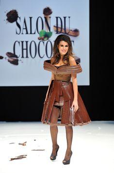 a chocolate dress :-) :-0