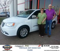 Congratulations to Leigh Wright on your #Chrysler #Town & Country purchase from Bill Moss at Huffines Chrysler Jeep Dodge RAM Plano! #NewCar