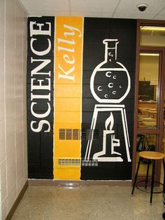 """Képtalálat a következőre: """"school hallway murals"""" School Hallways, School Murals, Classroom Design, Classroom Decor, Math Wall, School Bathroom, School Painting, Wall Murals, Wall Art"""