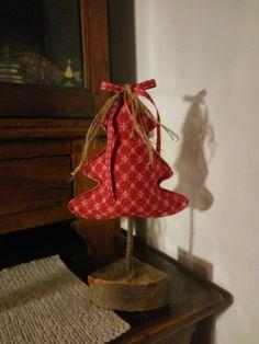 Alberello natalizio in stoffa
