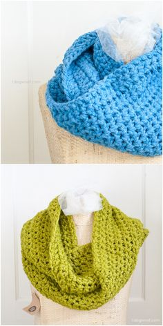 I figure now is a good time to share these free  chunky  crochet  patterns  made with Lion Brand s Wool Ease Thick and Quick.  Crochet  Scarf b8e61b02767d