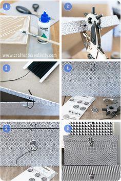 Caja De Almacenamiento makeover - porción Artesanía y Creatividad