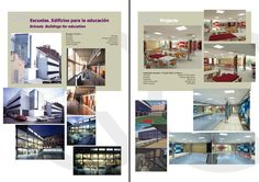 Escuelas. Edificios para Educación  Schools. Buildings for Education Architecture Design, Desktop Screenshot, Catalog, Schools, Buildings, Architecture Layout, Architecture Illustrations, Architecture