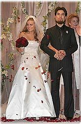 Dave Navarro and Carmen Electra  #celebrity #wedding