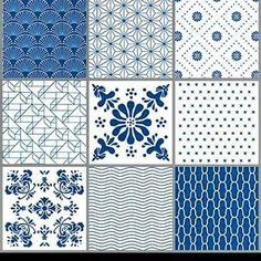 The Blue Pattern box set is like a modern version of old dutch tiles. The stickers are perfect in the kitchen and easy to apply on a smooth and clean surface. We use a water-repellent foil for our stickers so they can. Subway 2.0, Lime Paint, Best Bathroom Designs, Tile Crafts, Black Tiles, Interiors Online, Box Patterns, Living On The Road, Black Pattern
