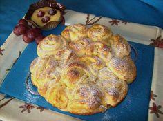 Torta di rose con crema pasticciera