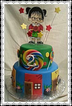 Chilindrina Cake Chavo del Ocho  @Banias_Confections