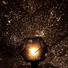 DIY Romantic Galaxy Starry Sky Projector Night Light+Constellation Manual 2863527 2016 – $11.99