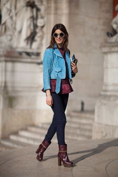 STREET STYLE FALL 2013: PARIS FASHION WEEK. absolutely love these shoes