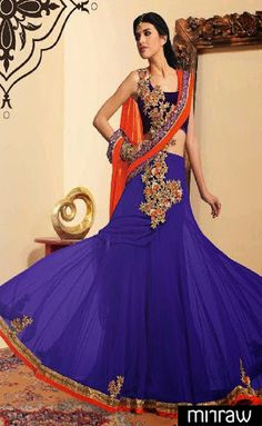 Gorgeous party wear lehenga choli
