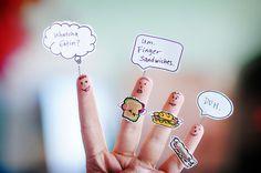 um.  finger sandwiches.