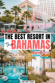 The Bahamas is a dreamy vacation destination. The water is turquoise and the sand is white, it's like a fairytale! Click to learn about the BEST resort to stay at when you're visiting the Bahamas! #bahamar #bahamas #bahamasvacation #travel #caribbean | where to stay in the bahamas | bahamas vacation outfits | nassau bahamas | bahamas honeymoon | bahamas grand hyatt | baha mar bahamas | baha mar bachelorette | grand hyatt bahamas | things to do in the bahamas | bahamas vacation Bahamas Resorts, Bahamas Honeymoon, Bahamas Vacation, Best Resorts, Hotels And Resorts, Nassau Bahamas, The Bahamas, Vacation Places, Vacation Destinations
