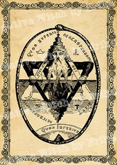 The great seal of Solomon digital by CreativeWitchByErika on Etsy