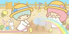 キキったら、水遊びもほどほどに〜!!