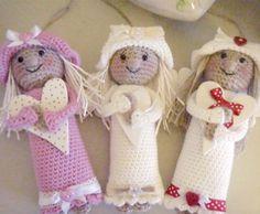 amigurumi änglar virka gratis virkbeskrivning mönster inspiration tips ide handarbete angel