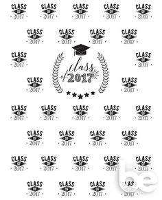 Graduation Step and Repeat Backdrop Graduation Party