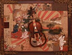 Fuzzy Violin collage
