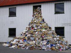 boeken kunst in Noorwegen Lofoten