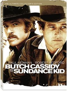 Butch Cassidy and the Sundance Kid; Paul Newman, Robert Redford...Incredible duo.