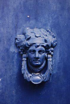 Blue Door Knocker