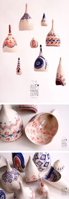 The Awesome Project - porcelain light fixtures Ceramic Clay, Ceramic Painting, Porcelain Ceramics, Ceramic Pottery, Ceramic Lamps, Cold Porcelain, Clay Design, Ceramic Design, Earthenware