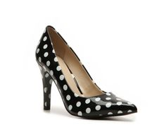 Nine West Gwendle Polka Dot Pump - You can create a zillion outfits with these cute shoes.  Let's see, Vintage, classic..blah, blah, blah