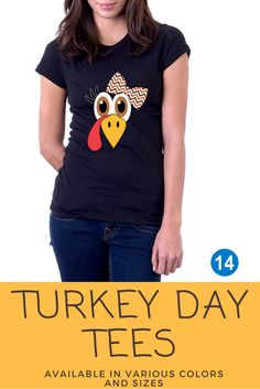 Turkey Face Girls Thanksgiving T-Shirt Thanksgiving Shirts For Women, Thanksgiving Outfit, Mabon, Smiles And Laughs, Branded T Shirts, Fall Crafts, Grandkids, Silhouette Cameo, Funny Shirts