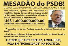 BLOG DO IRINEU MESSIAS: FHC E O MESADÃO DO PSDB PARA SALVATORE CACCIOLLA, ...