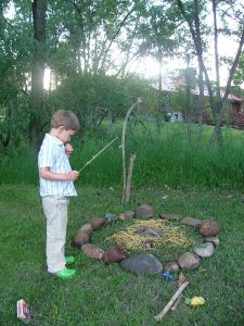 Summer Solstice a time of letting go.  Write negative habits on leaves and through them in the fire.