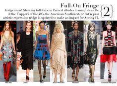 Paris Spring 2014 Top Trends - Full-On Fringe