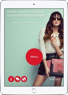 Host ads on tablet menus to earn extra revenue. Restaurant App, Ads