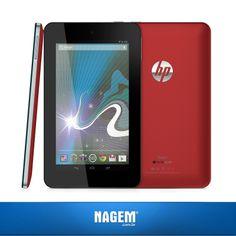 Toda a tecnologia da HP integrada no Tablet HP Slate 7! Ideal para lhe entregar alta performance com uso racional da bateria. Confira nossa #OfertaNagem de hoje.