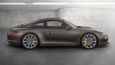 Porsche 911 Carrera 4 et Carrera 4S 2013 au Mondial de l'Automobile.