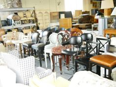 Superieur Bar Stools Galore, Located In Boca Raton, FLorida  Www.pastperfectconsignment.com