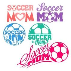 Soccer Mom SVG Cuttable Designs - FREE today only Sept 7