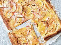 Spiralized Apple Puff Pastry Tart Recipe | I love my food