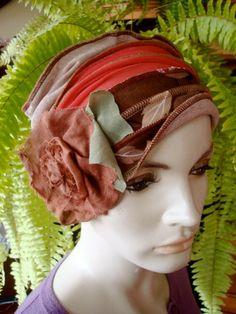 Womens Extra wide Headwrap headscarf by GypsyLoveHeadbands on Etsy, $45.00